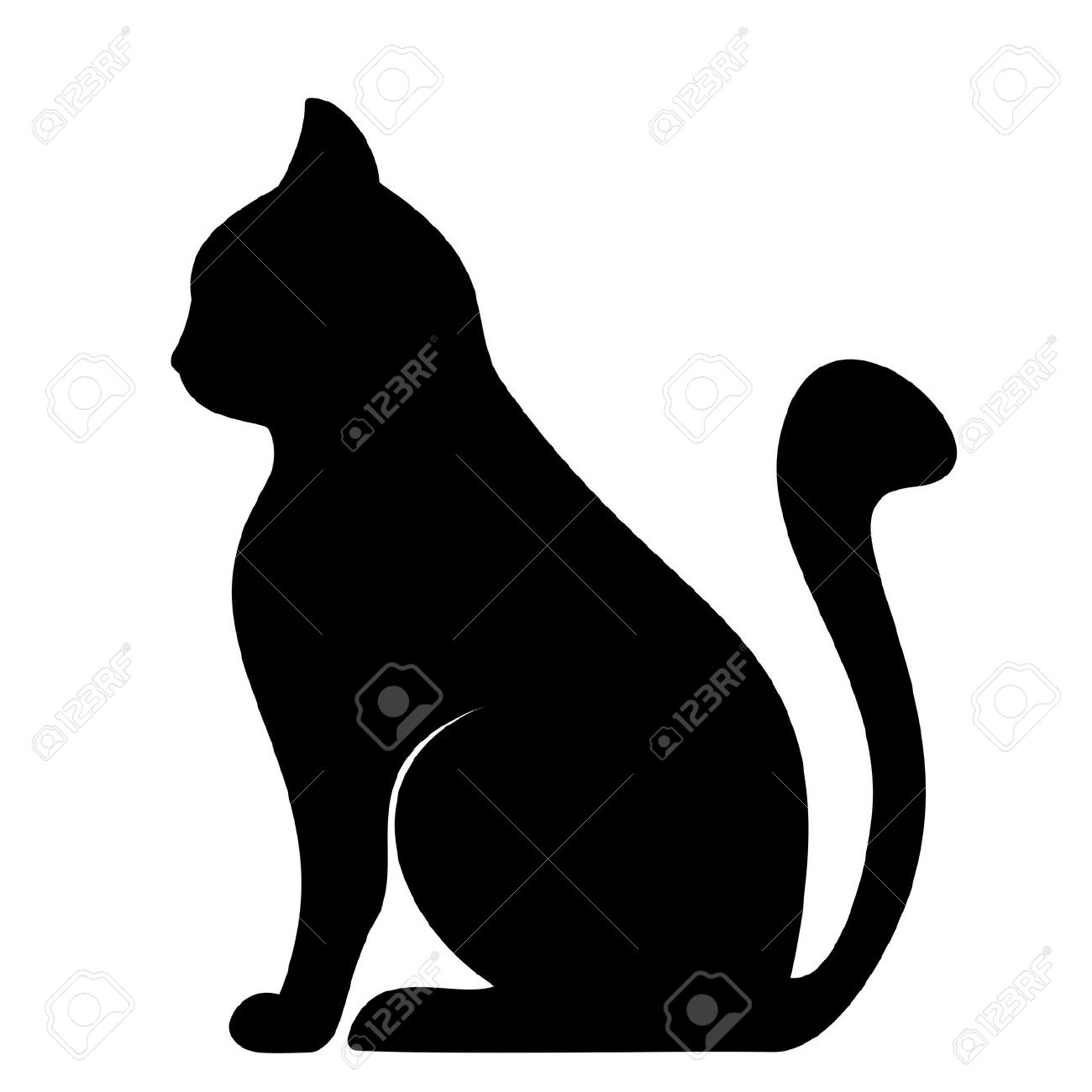 29,970 Cat Silhouette Stock Vector Illustration And Royalty Free.