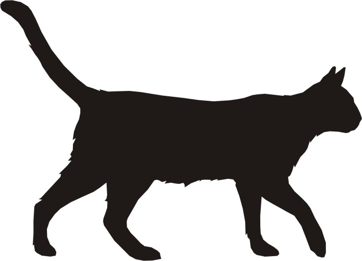 Cats Silhouette Clip art Pack.