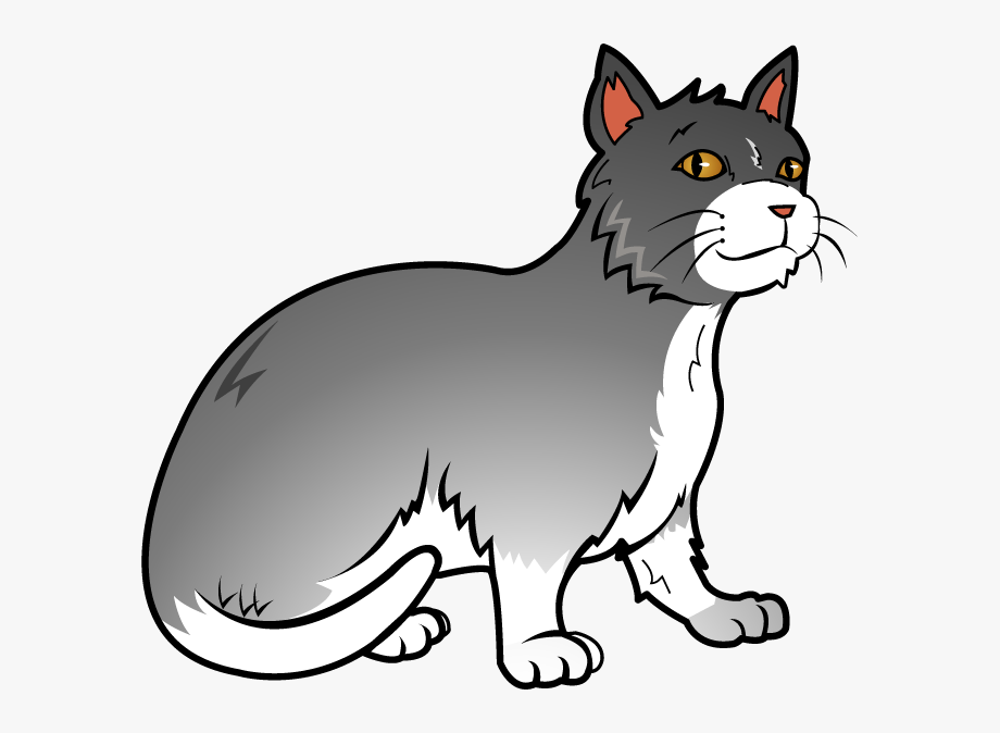 Free Art Clip Of Cat Clipart.