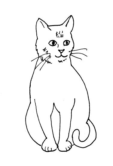 Free Cat Drawings, Download Free Clip Art, Free Clip Art on.