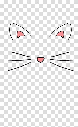 Cat Ear transparent background PNG cliparts free download.