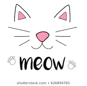 Download Free png Cat ears and whiskers clipart 7 » Clipart.