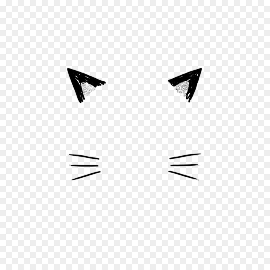 Cat Kitten Ear Whiskers Clip art.
