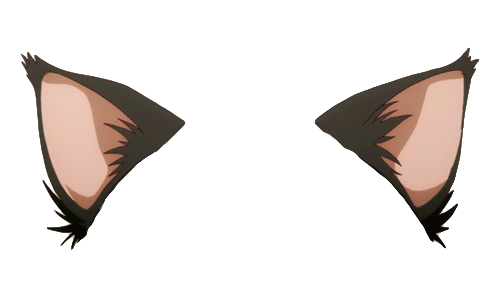 Anime Cat Ears Png Vector, Clipart, PSD.