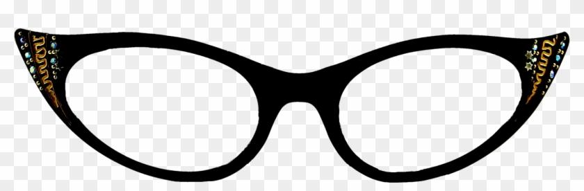 Vintage Cat Eye Glasses.