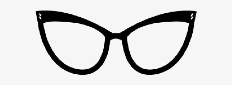 Cat Eye Glasses Logo #759797.
