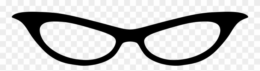 Clipart Cat Eye Glasses 1 Clip Art.