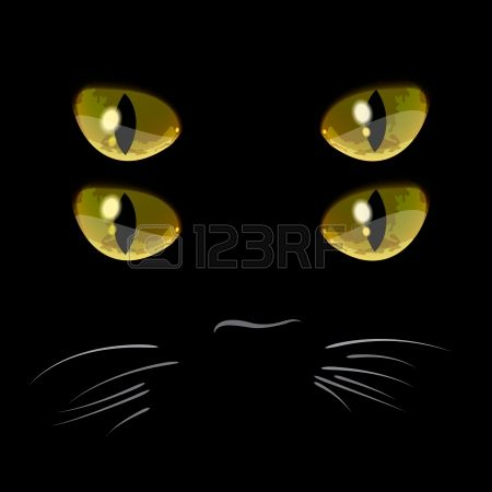Cat eyes clipart #14