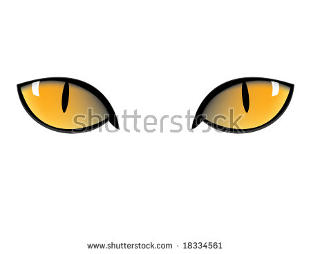 Cat eyes clipart - Clipground