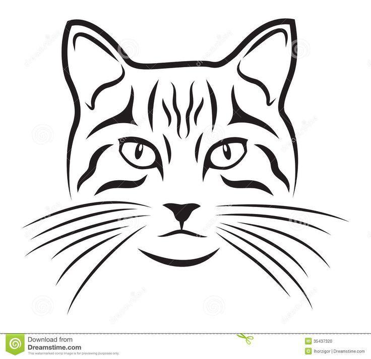 Počet nápadů na téma Cat Face Drawing na Pinterestu: 17 nejlepších.