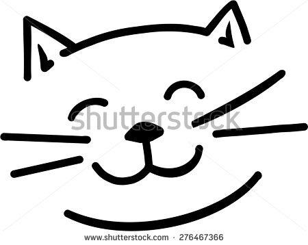 Cat Faces Stock Vectors & Vector Clip Art.