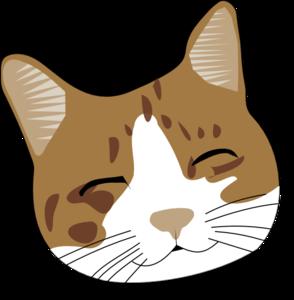 Cat face clipart images.
