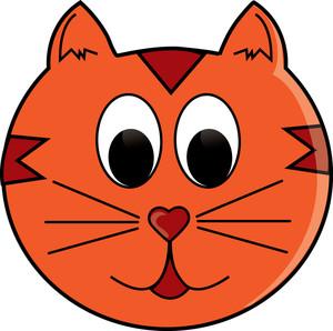 Cat Face Clipart.