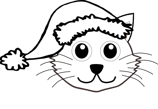Dog Face Clipart Black And White.