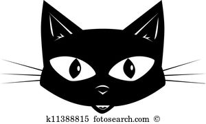 Cat face Clip Art Royalty Free. 8,227 cat face clipart vector EPS.
