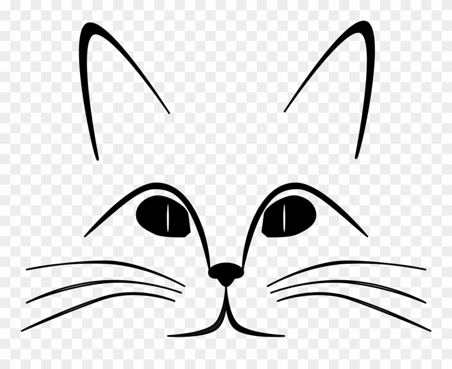 Cat Black And White Cat Clip Art Black And White Free.