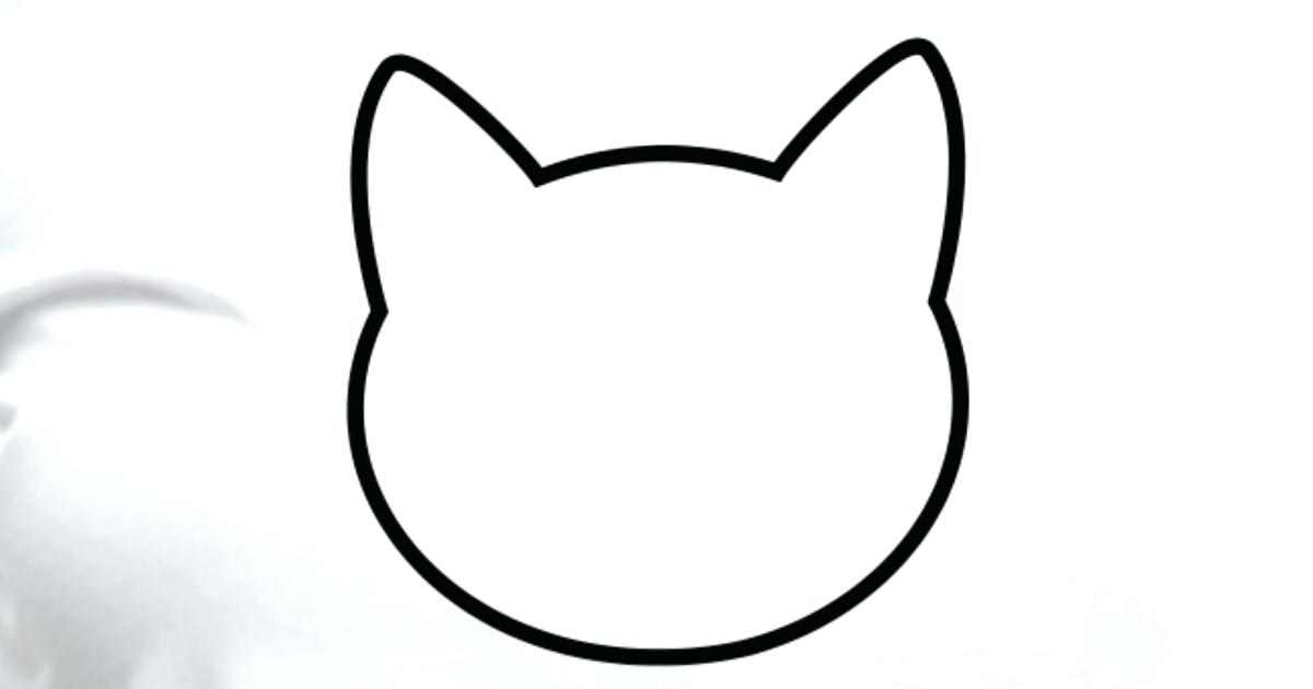 Cat Silhouette Outline at GetDrawings.com.