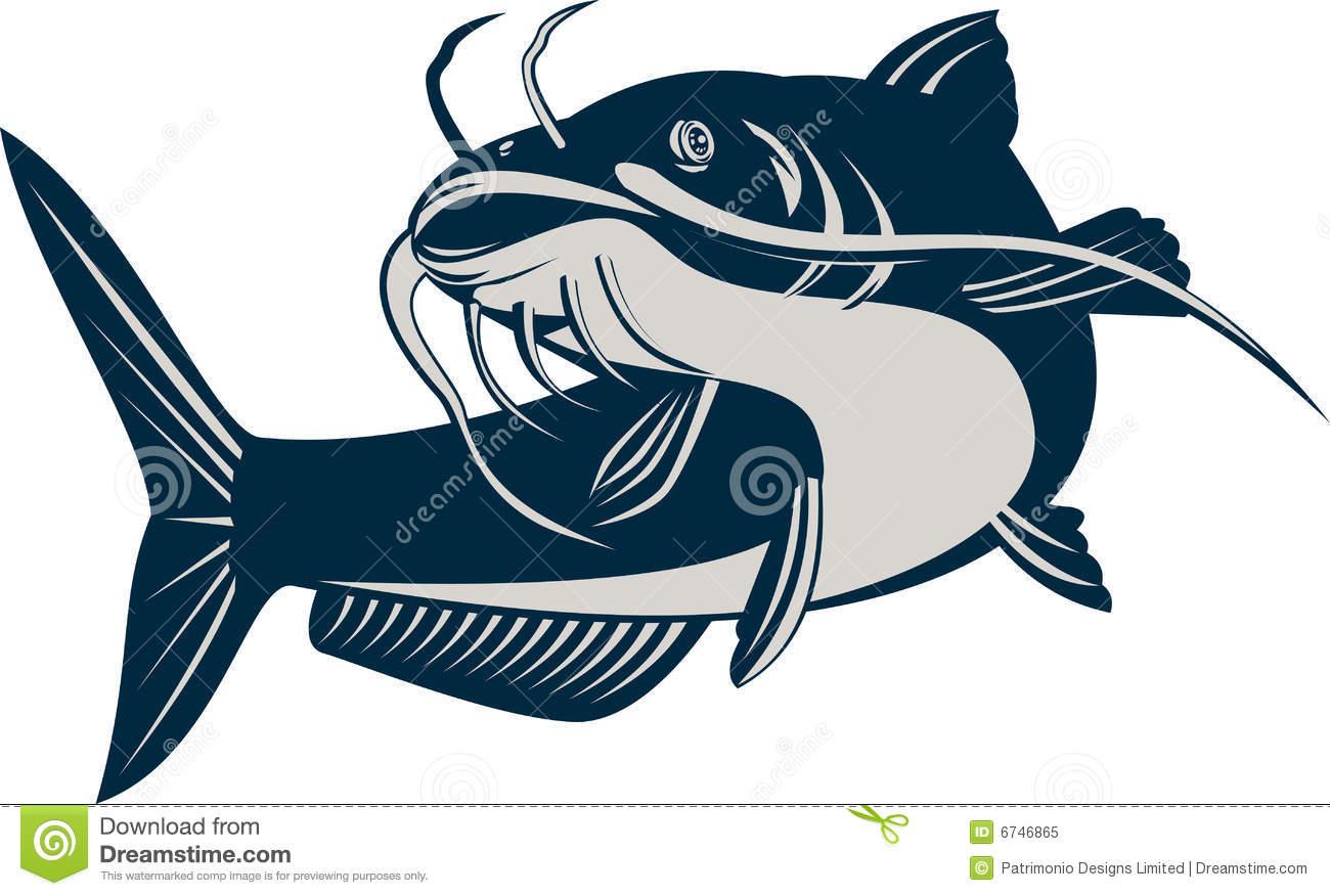 102+ Catfish Clip Art.