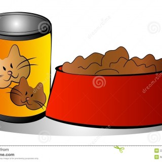 Tag For Dog Bowl Clipart.