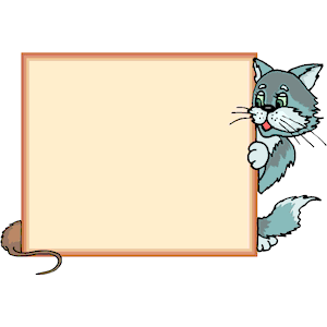 Cat Frame 2 clipart, cliparts of Cat Frame 2 free download.