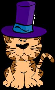 Cat In A Hat Clip Art at Clker.com.