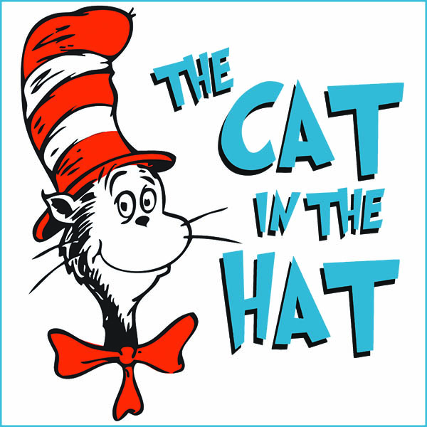 The Cat In The Hat Clipart.