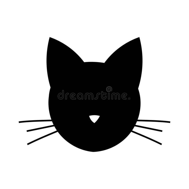 Cat Head Stock Illustrations.