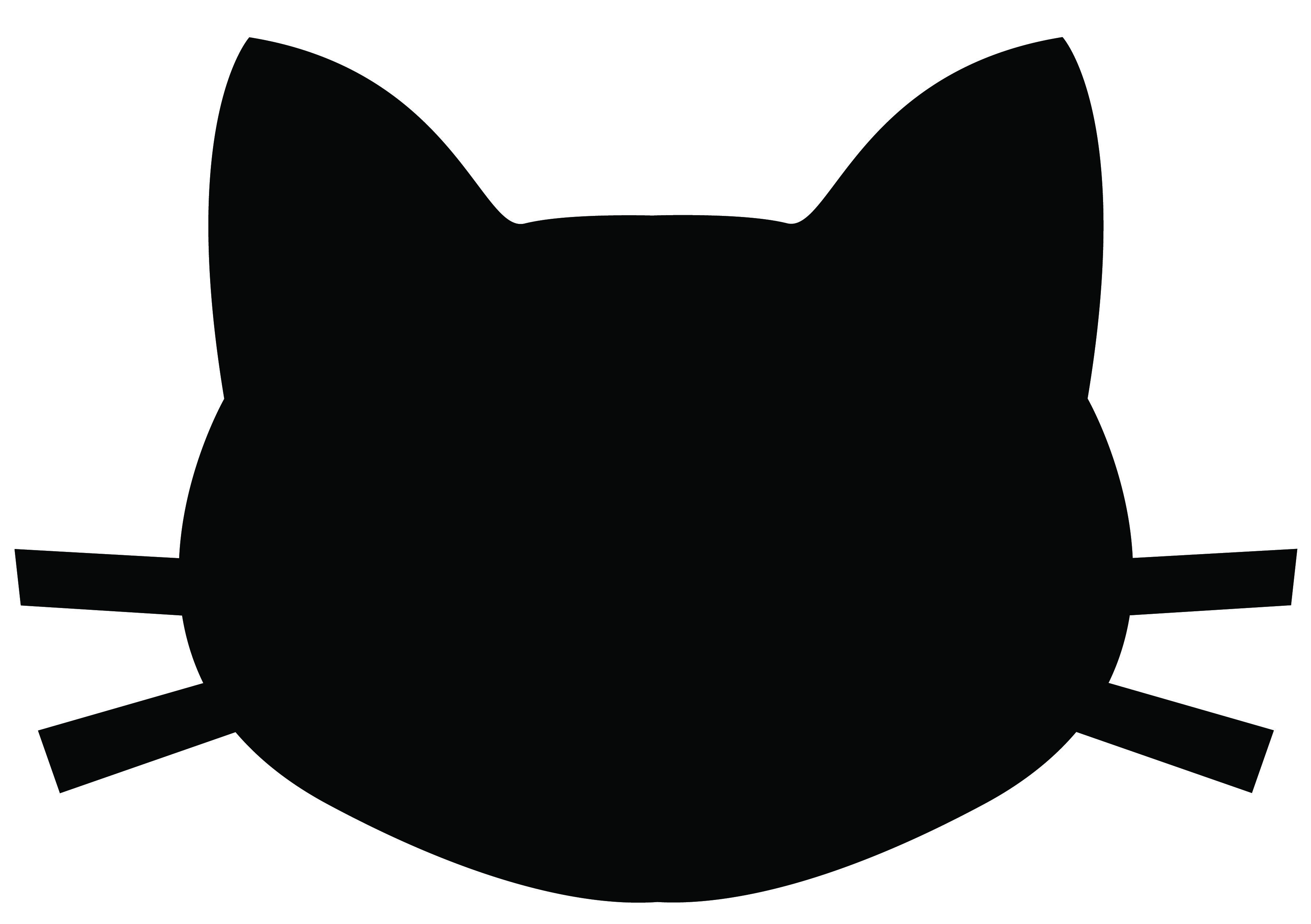 Cat head clipart 4 » Clipart Station.