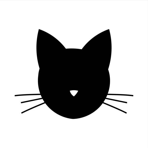 Image result for cat head clipart.