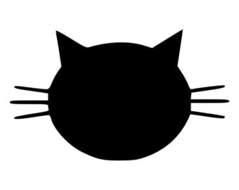 Cat Head Clipart.