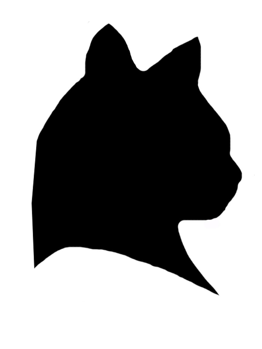 Free Cat Head Silhouette, Download Free Clip Art, Free Clip.