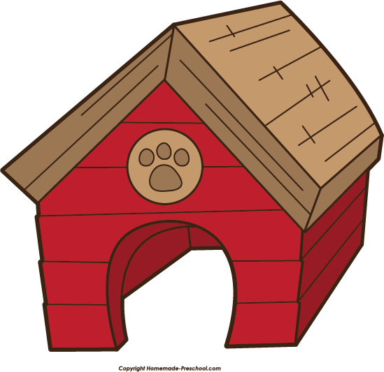 Cat house clipart.