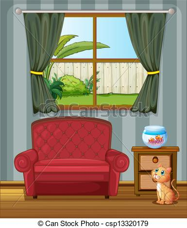 House cat clipart.