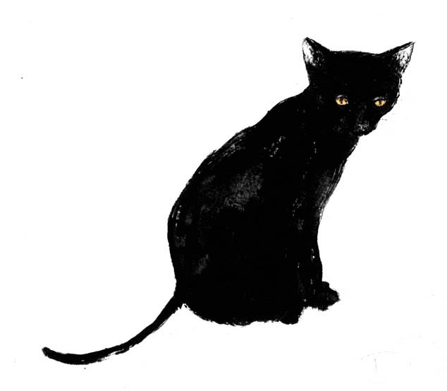 Free Black Cat Illustrations, Download Free Clip Art, Free.