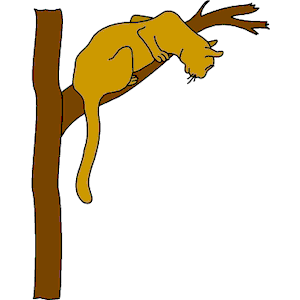 Cat in Tree clipart, cliparts of Cat in Tree free download.