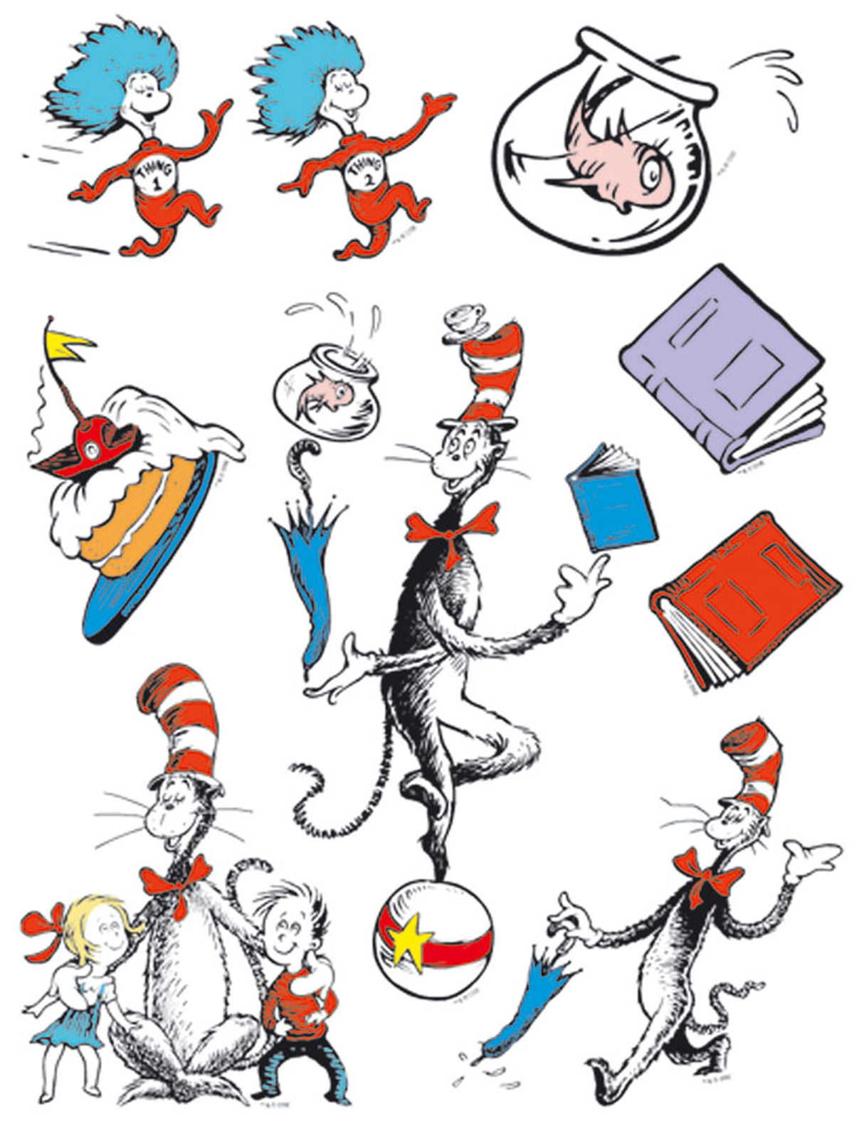 Free Cat In The Hat, Download Free Clip Art, Free Clip Art.