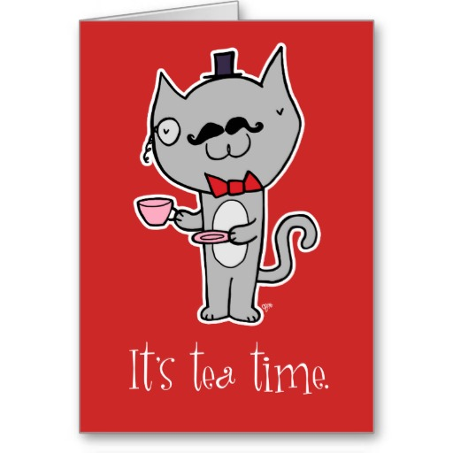 Top Hat Cat With Bow Tie Cards, Photo Card Templates.