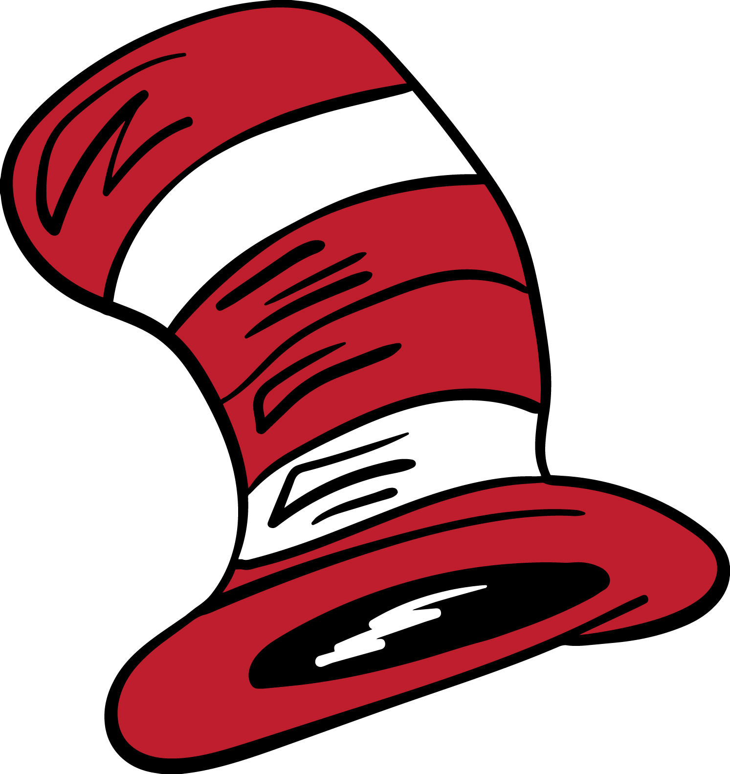 Cat In The Hat Clipart Svg.