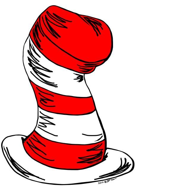 Dr Seuss Hat Image.