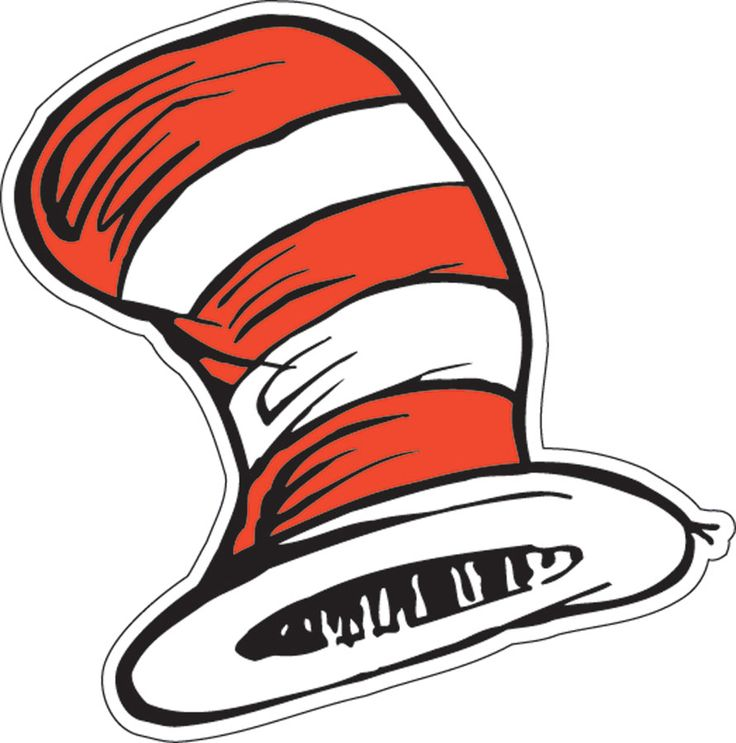 Free Cat In The Hat Clip Art Black And White, Download Free.