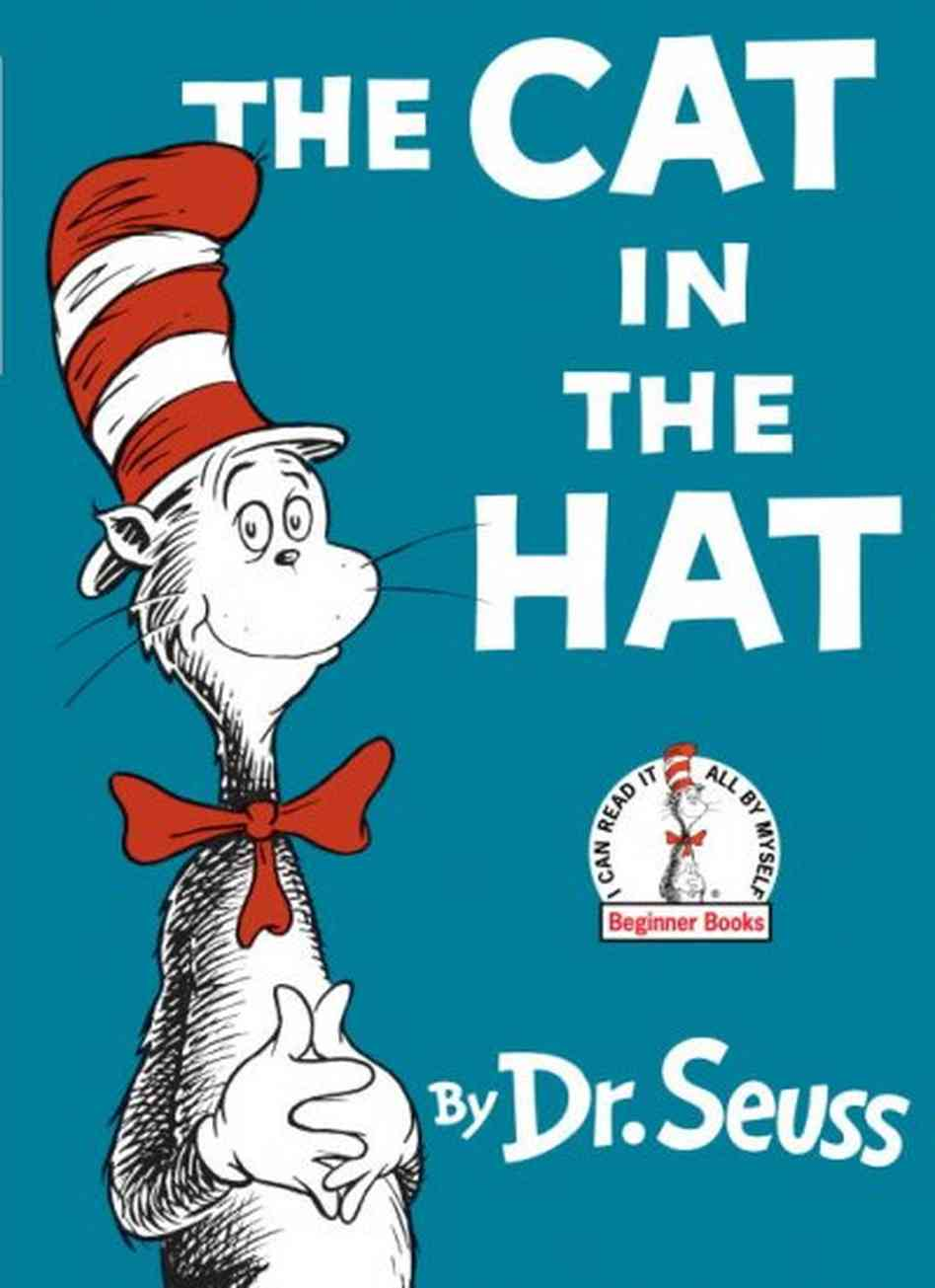 Cat In The Hat Book Clipart.
