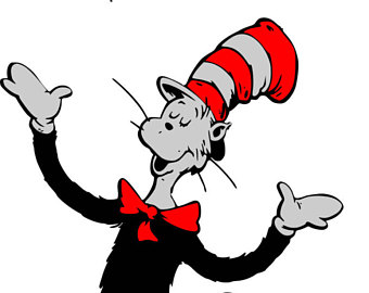 Dr Seuss Hat Vector.