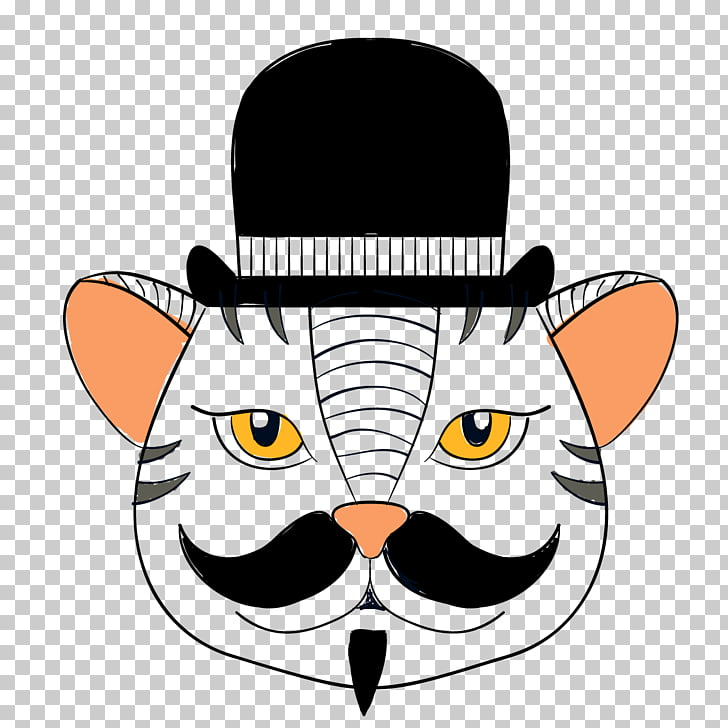 Whiskers , Mr. cat PNG clipart.