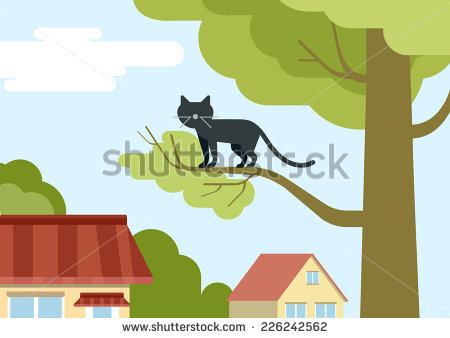 Cat Tree Stock Vectors, Images & Vector Art.