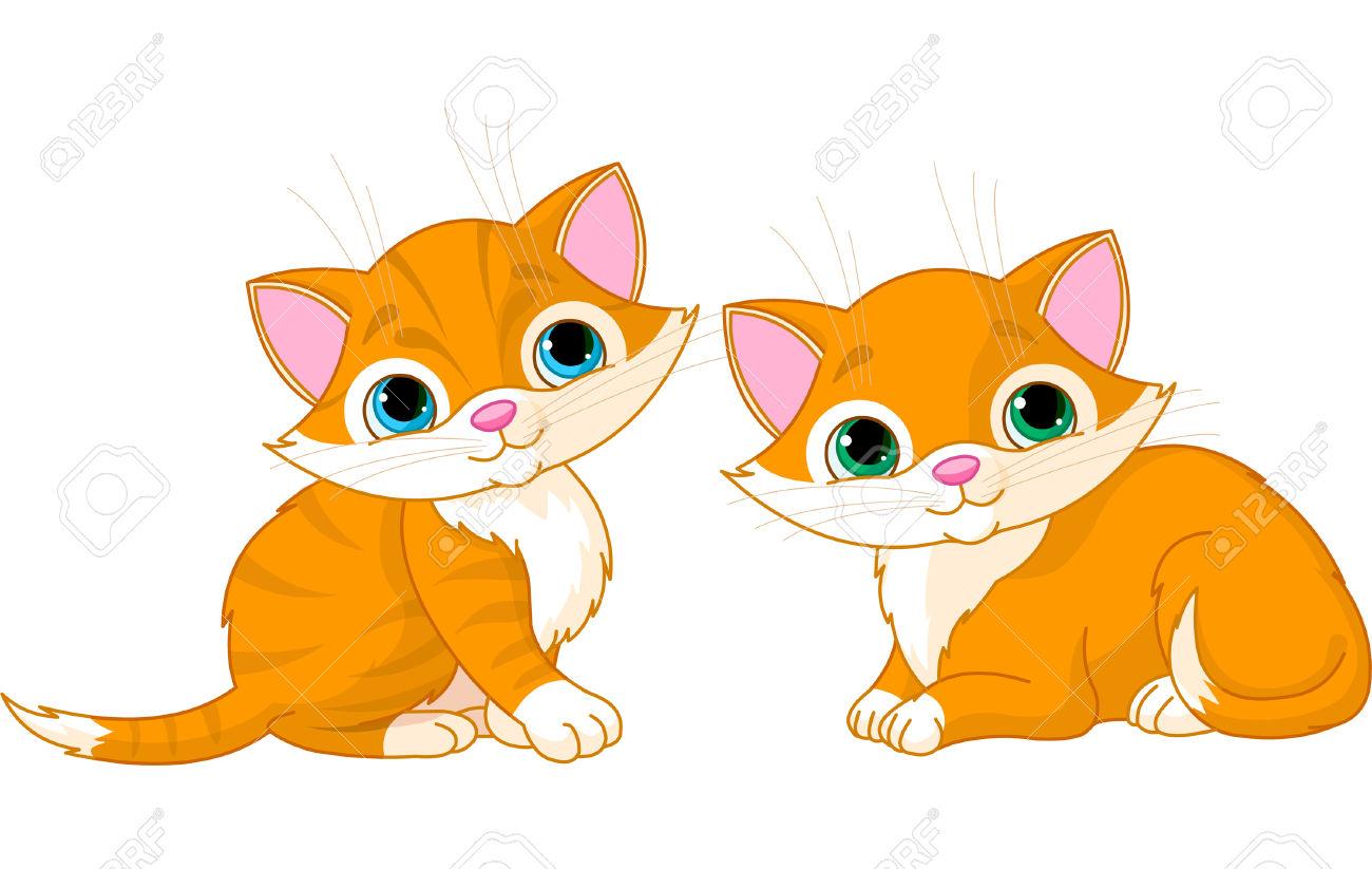Cute cat clipart kitten.