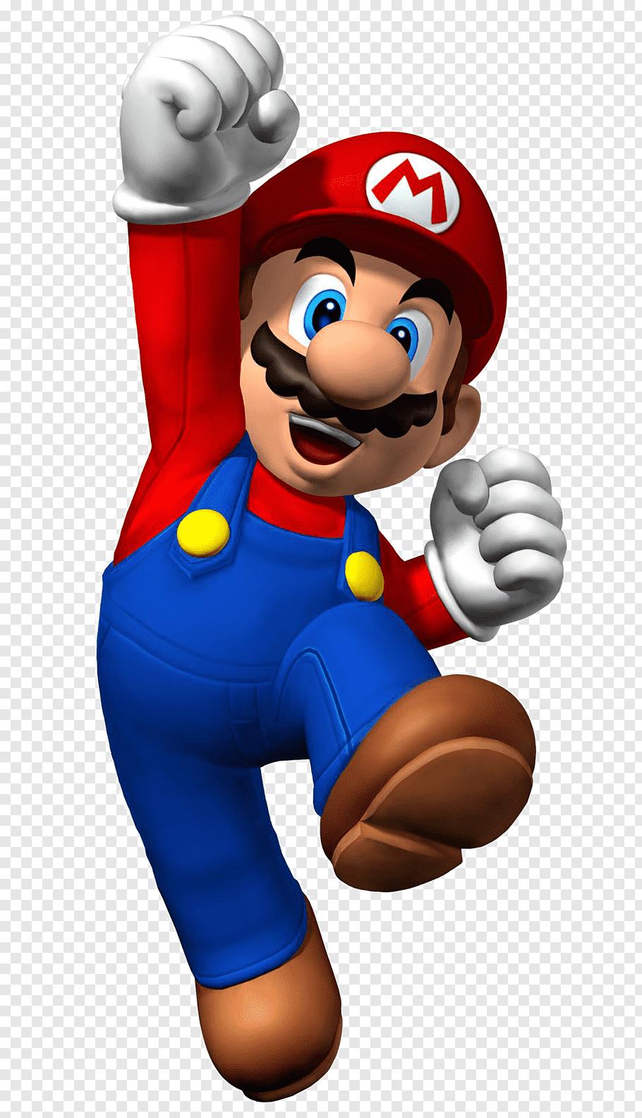 Super Mario illustration, New Super Mario Bros. U New Super.