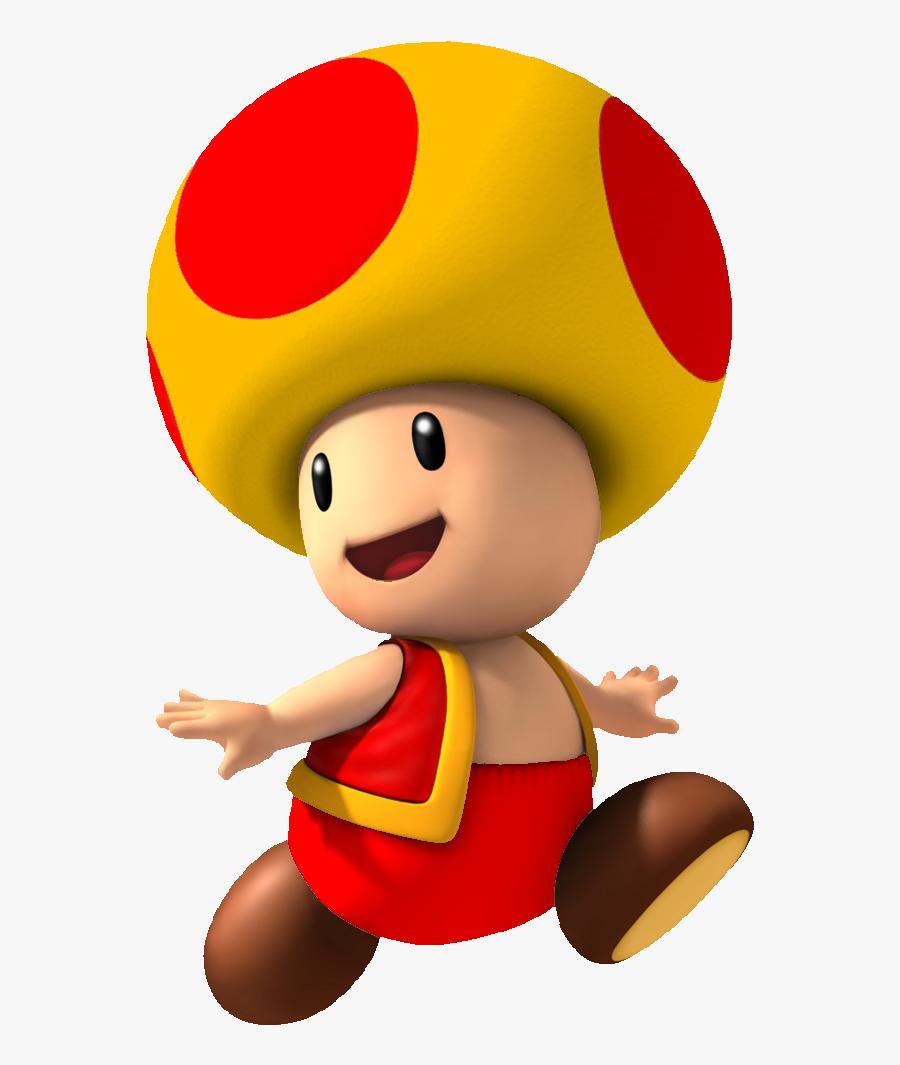 Toad Clipart Super Mario.