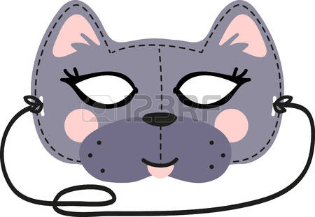 1,302 Cat Mask Cliparts, Stock Vector And Royalty Free Cat Mask.