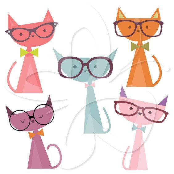 Pics For > Cute Cat Images Clip Art.