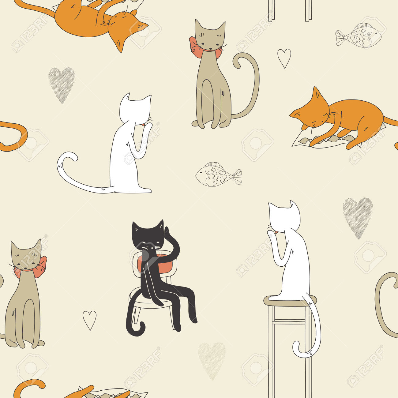 1000 Images About Cat Patterns On Pinterest